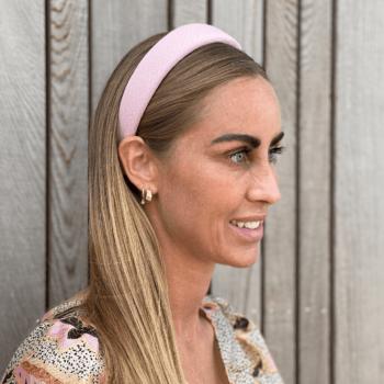 vicky hårbøjle i lyserød