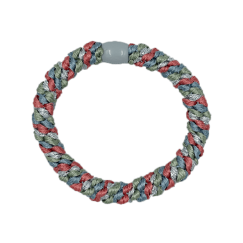 ByStær Hairties - Multi Grøn:Blå:Rød glitter