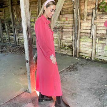 Sille kjole – Silke Pink