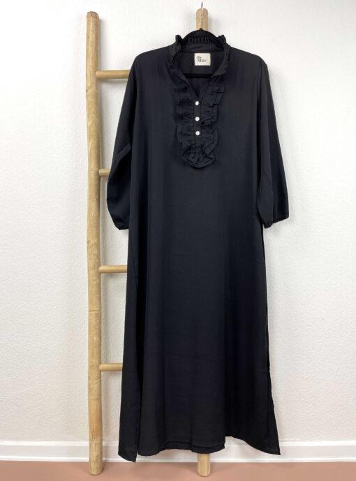 Sille kjole – Silke Sort