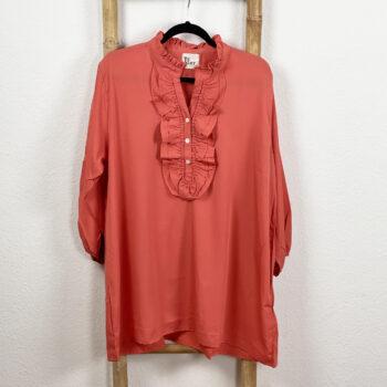 Silke Skjorte Rust