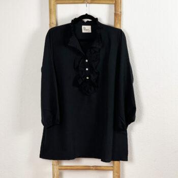 Skjorte Sort